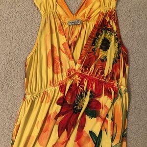 One World maxi length dress, size large